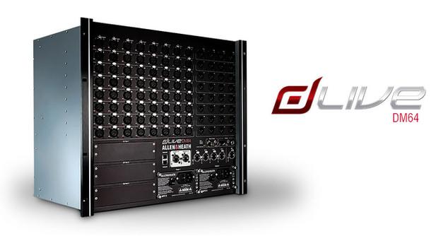 dLive-DM64 Interface