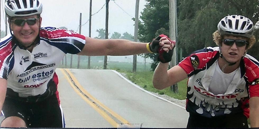 Join the Zac43Foundation bike team in the RAIN RIDE