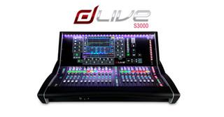 dLive S3000 Mixer