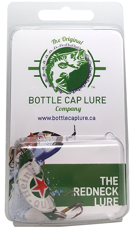 Heineken Beer Bottle Cap Fishing Lure