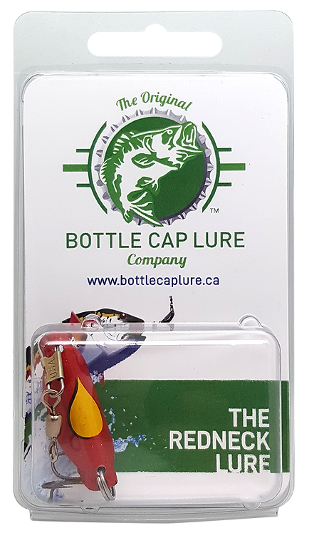 Retail - Oil Drop Bottle Cap Fishing Lure