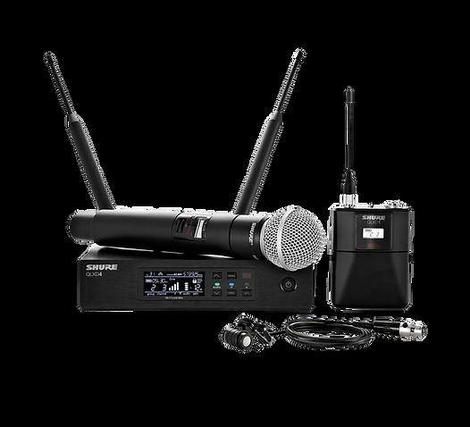 QLXD124-85 WIRELESS MICROPHONE SYSTEM.pn