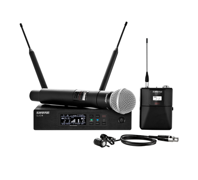 QLXD124-85 WIRELESS MICROPHONE SYSTEM.pn