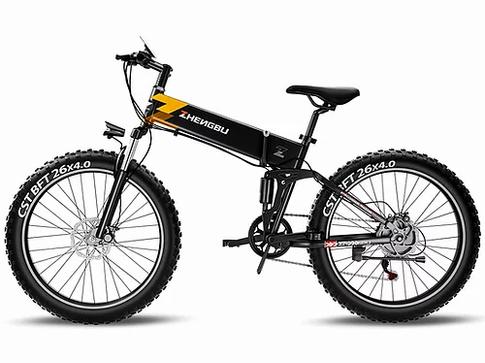 EZBIKE ZB H3 Foldable Electric Fat Bike.