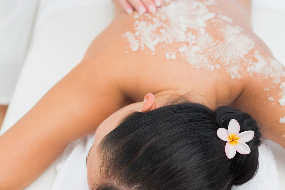 Back Facial with AromaYou Feet