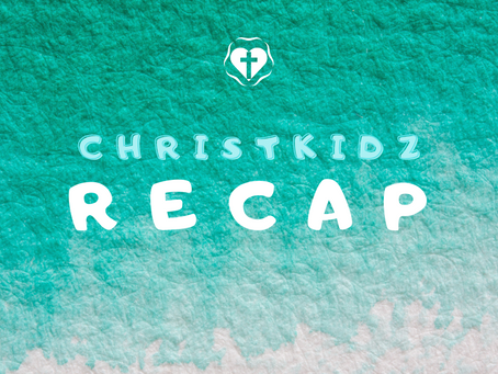 ChristKidz Old Testament Recap!