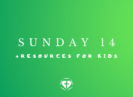 Sunday 14 (Video Service and Children's Resources)