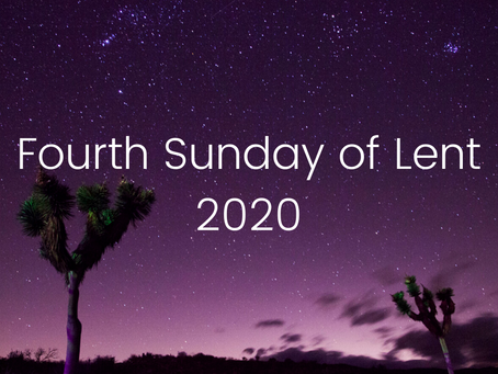 4th Sunday in Lent (Video Service and Children's Resources)