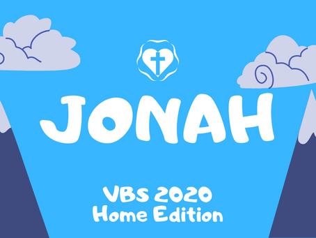 VBS Day 3 - Jonah
