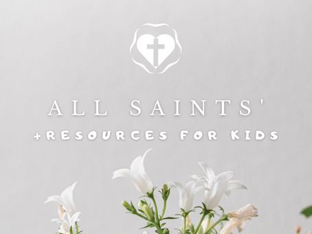 All Saints' Day - Video Service and Children's Resources
