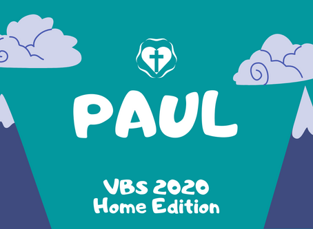 VBS Day 5 - Paul
