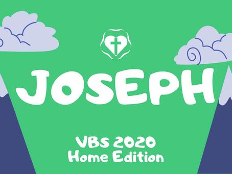 VBS Day 1 - Joseph