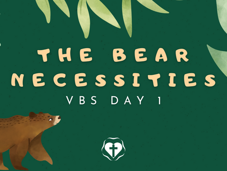 VBS Day 1 — Manna in the Desert