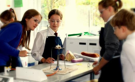 Helping Winchester children with their science education