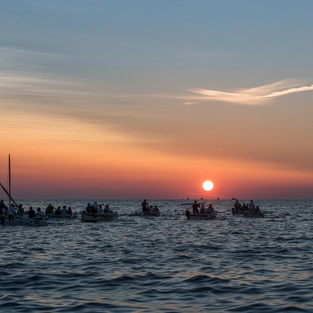 Sonnenuntergang Kroatien