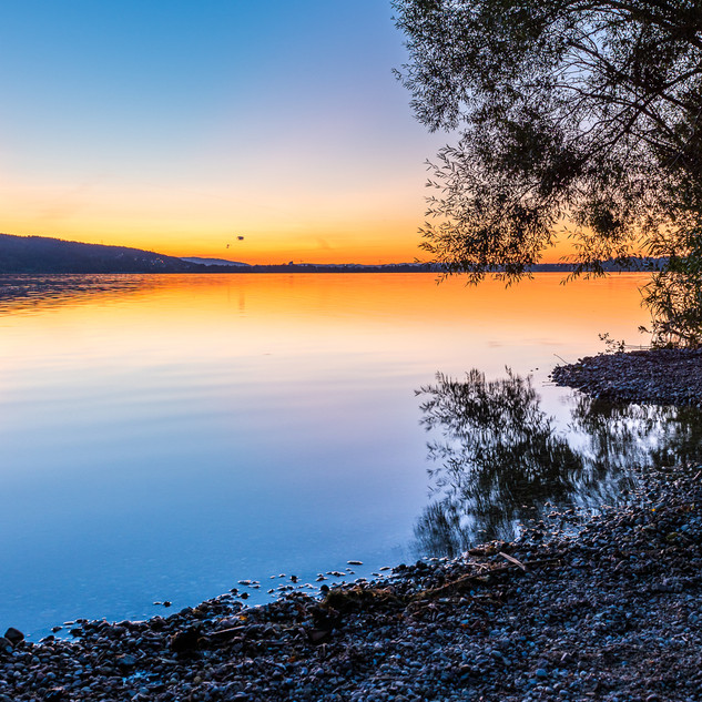 Greifensee Sonnenuntergang