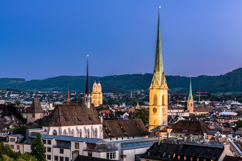 Zürich Polyterrasse