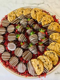 Deluxe Chocolate Snack Platter