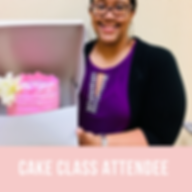 adult cake decorating class attendant-ba