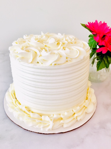 Vanilla Sex Layer Cake