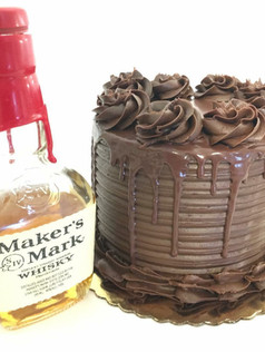 Alcohol infused cocktail cake