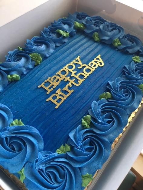 Custom Birthday Sheet Cake