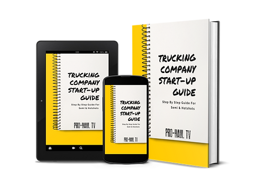 Trucking Company Start-Up Guide (E-book)