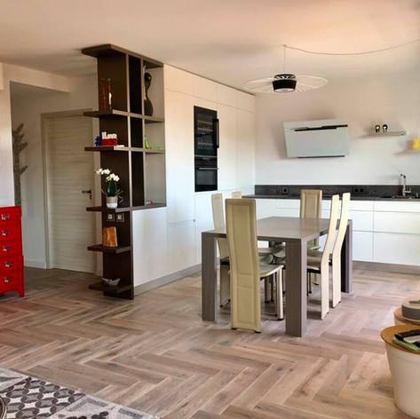 79 - Nouvelle réalisation d'une cuisine en ville
