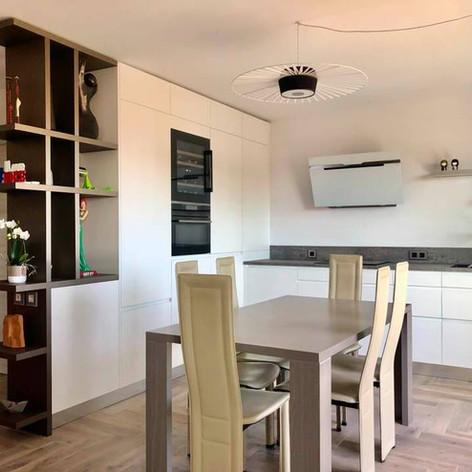 78 - Nouvelle réalisation d'une cuisine en ville