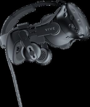 מערכת רצועות–אודיו החדשה של HTC-VIVE