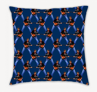 George Michael cushion