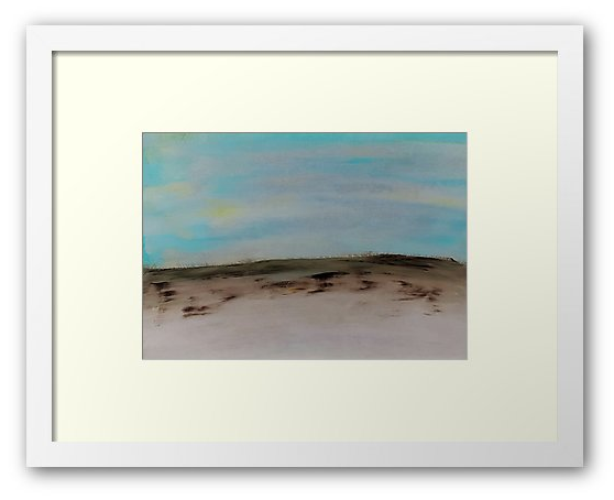 Painting of a beach