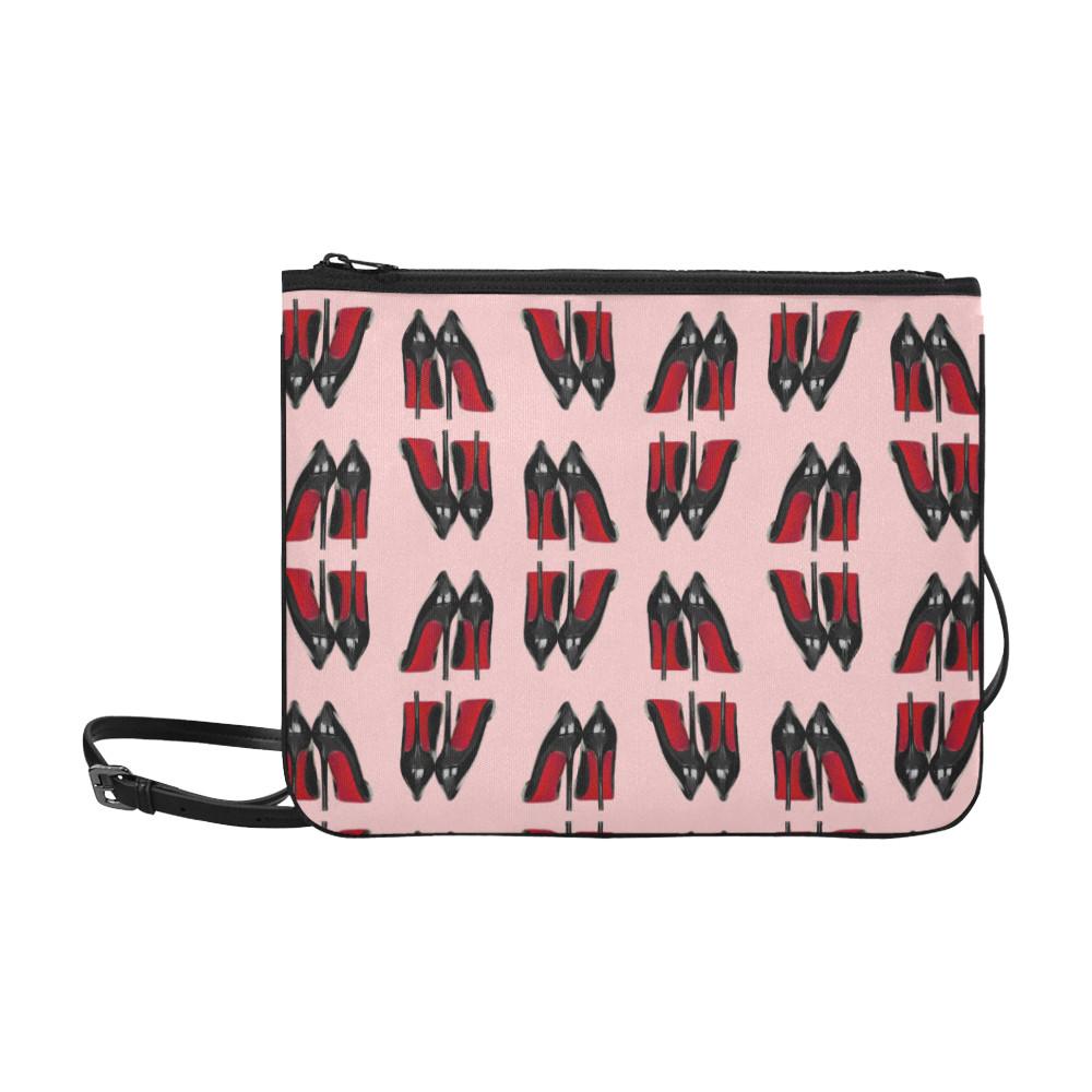 shoe patterned purse