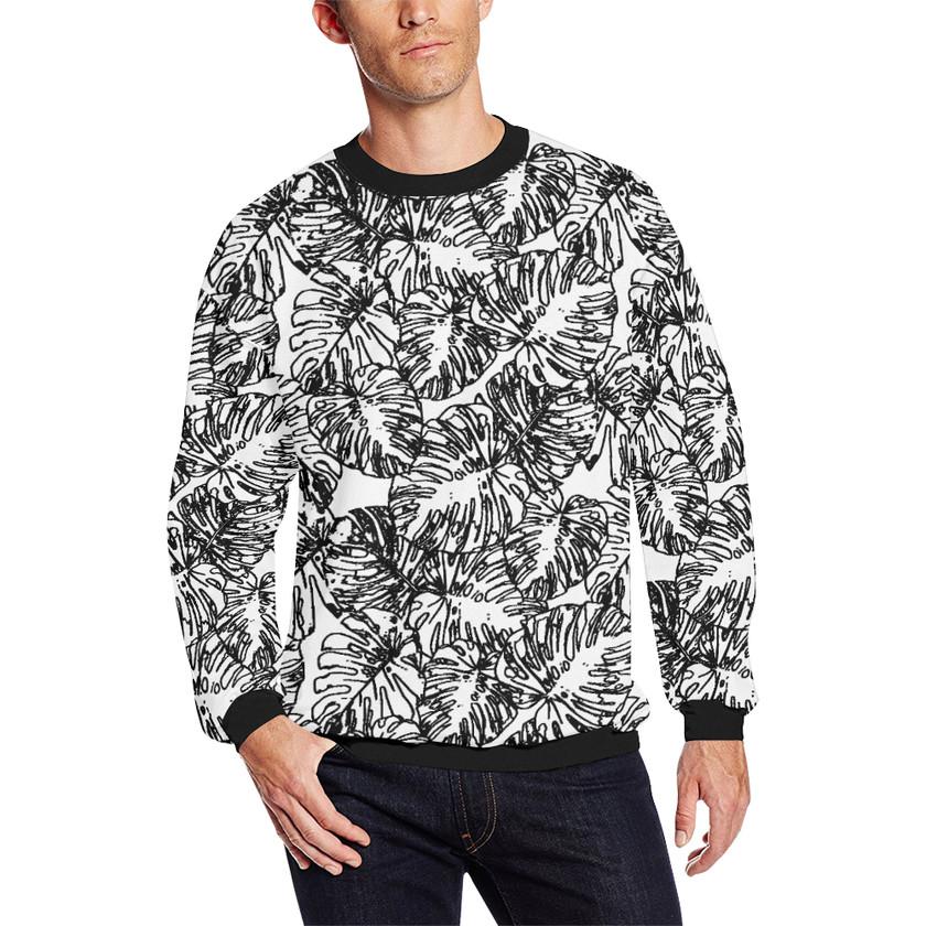man in a sweatshirt