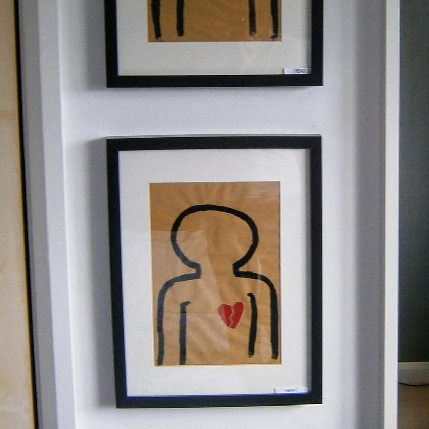 Popart people triptych