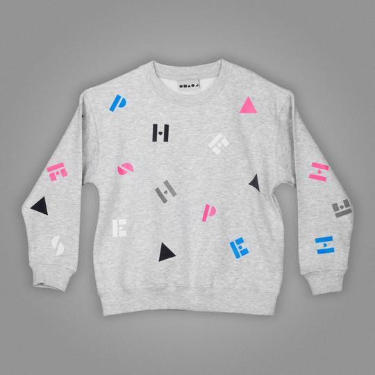 kids grey sweater