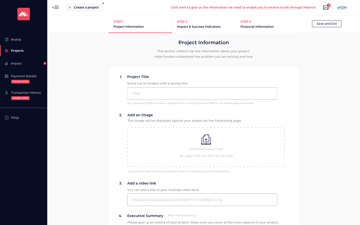Create a project - Step 1.png