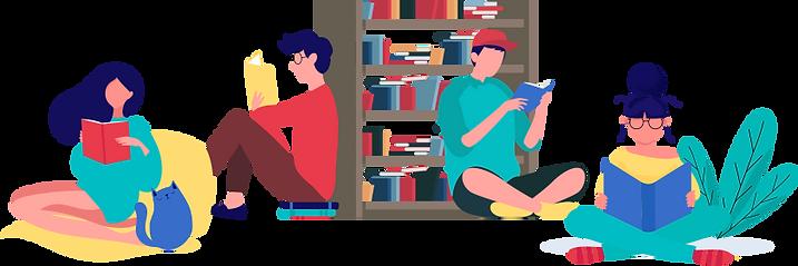 reading-room-illustrations-ios-applicati