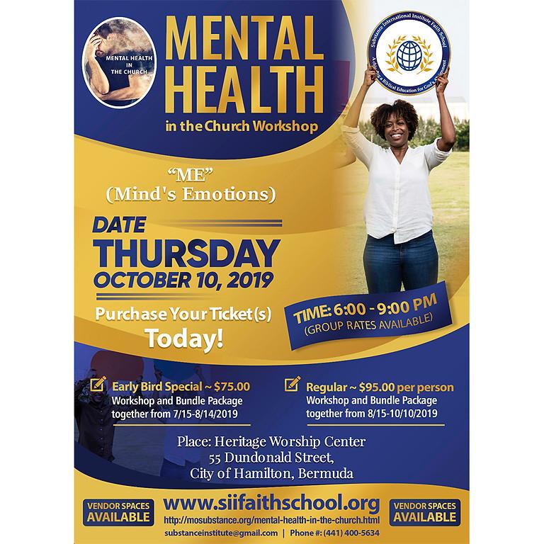 Mental Health in the Church Workshop