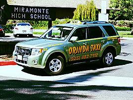 Orinda Taxi Cab