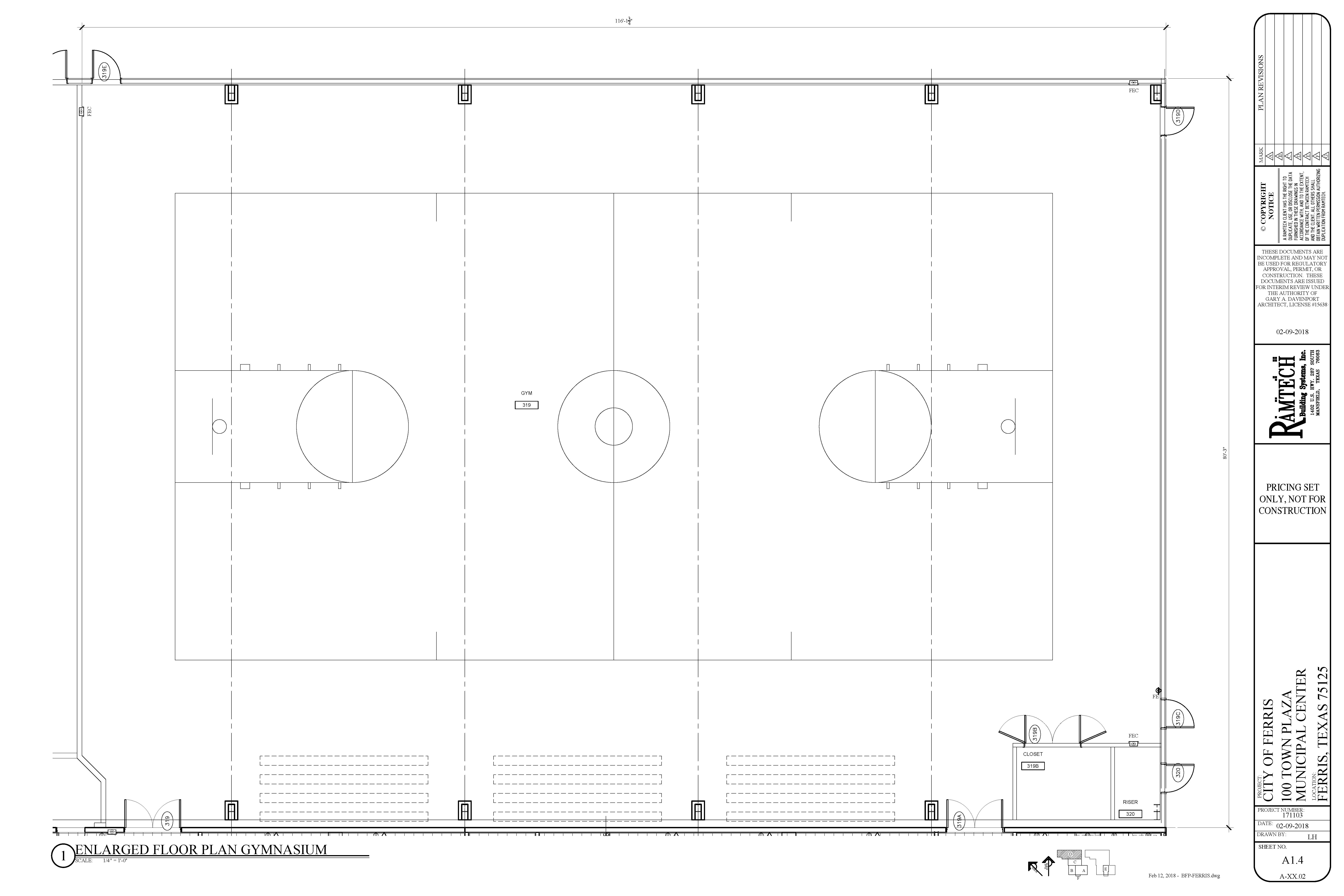 Gym Floorplan