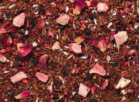 Mélange de Thés Rooibos Framboise/Rhubarbe aromatisé