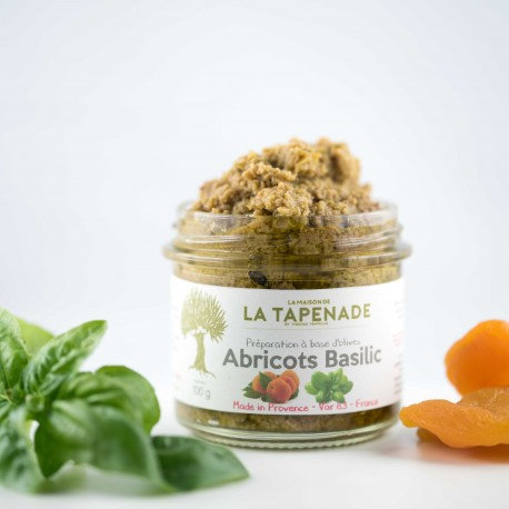Tapenade Abricots Basilic