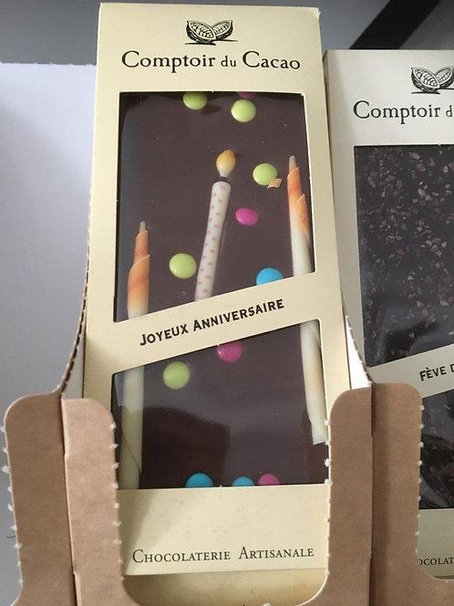 tablette joyeux anniversaire
