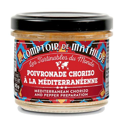 Poivronade Chorizo à la méditerranéenne