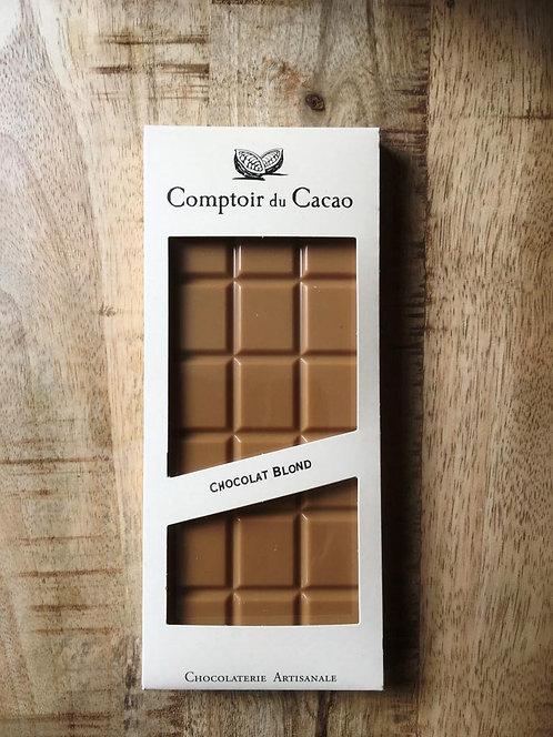 Tablette chocolat Blond