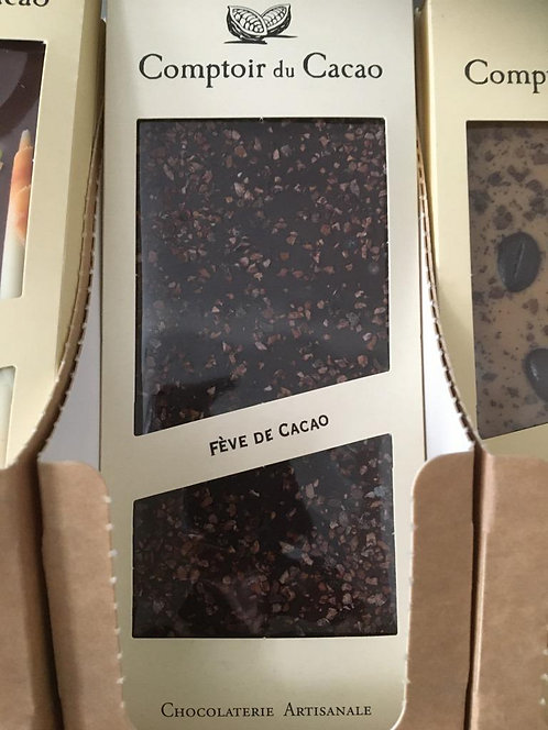 Tablette chocolat Fèves de cacao