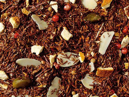 Mélange de Thé Rooibos Pain d'épice-Orange aromatisé