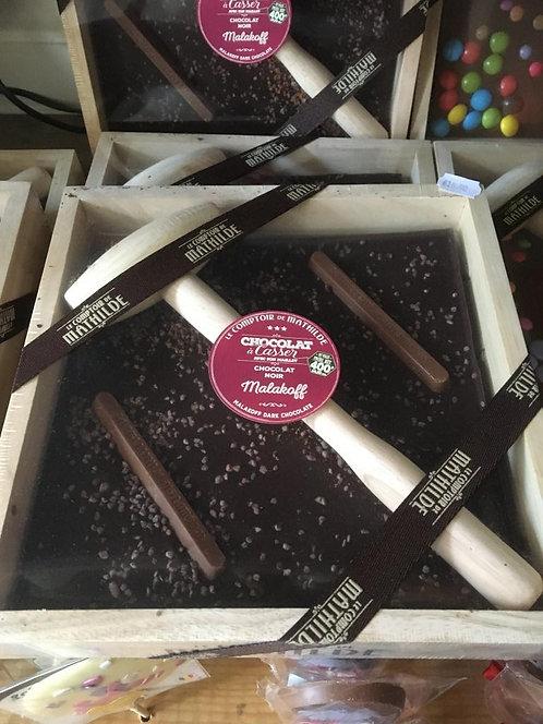 chocolat à casser noir