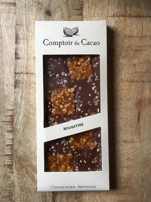 Tablette chocolat au lait Nougatine